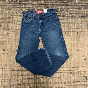 Boys Levi's 527 bootcut jeans. EUC!!